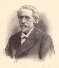 Portrait Docteur Pierre Eugène Ménétrier Gastrologie Médecine