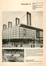 1970 Cladding For The British National Pavilion, Expo 1970, Osaka