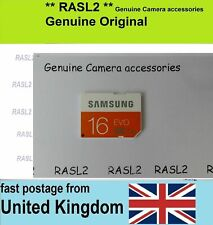 Genuine Samsung 16 GB SD-HC Memory Card For Camcorder / Digital Camera NX ES HMX