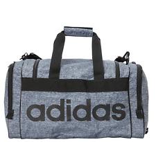 "adidas Unisex Santiago duffle Gym bag - Onix Jersey Black (21.5"" x 11"" x 11"")"