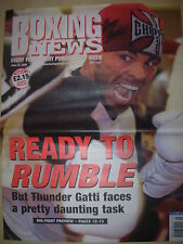 BOXING NEWS 24 JUNE 2005 FLOYD MAYWEATHER v ARTURO GATTI FIGHT PREVIEW