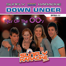 DOWN UNDER 00'S DISC SUNFLY KARAOKE CD+G