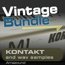 KORG M1 + 01W + X5 SAMPLE BUNDLE for KONTAKT 400+ nki & 4000+ WAV MAC PC MPC FL