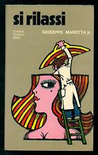 MAROTTA GIUSEPPE JR. SI RILASSI BIETTI 1972 HUMOUR
