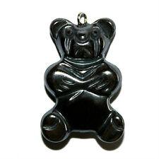 Hematite Teddy Bear Pendant 20X30Mm Charm Bears Hc30
