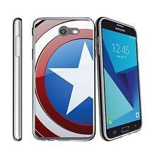 For Samsung Galaxy J7 V | J7 (2017) | Perx | Sky Pro Clear TPU Case Shield Hero