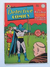 DETECTIVE COMICS (BATMAN) # 116 US DC COMICS original 1946 Robin Hood  VG-
