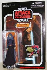 STAR WARS THE VINTAGE COLLECTION AOTC BARRISS OFFEE VC51 UNPUNCHED In Stock