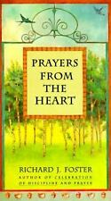 Prayers from the Heart, Foster, Richard J., Good Condition, Book