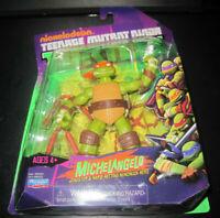2012 TMNT Teenage Mutant Ninja Turtles Action Figure Michelangelo Nickelodeon