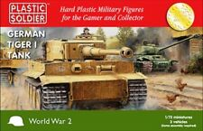 Plastic Soldier 1/72 allemand Tigre I Chars #ww2v20032