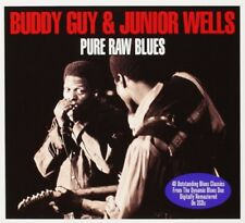 BUDDY & JUNIO WELLS GUY - PURE RAW BLUES 2 CD NEUF