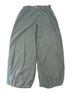 Oh My Gauze Lantern Crop Pants Gray Size 2