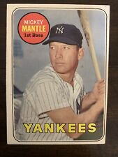 1969 Topps Mickey Mantle #500 NY Yankees Baseball Card