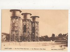 Port Said French Water Reservoirs Vintage Postcard 552a