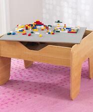 kidkraft Natural Activity Play Table & Block Set