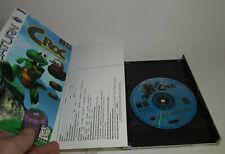 Croc: Legend of the Gobbos (Sega Saturn, 1998) Complete CIB w/ Reg Card *READ*