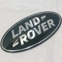 OEM RANGE ROVER SPORT,VOGUE,EVOQUE GRILL BADGE OVAL GREEN-SILVER SUPERCHARGED
