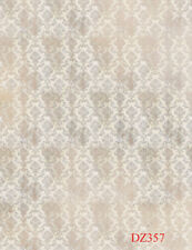 New 100% Polyester Photo Background 5x7FT Retro old Damask Studio Backdrop Props