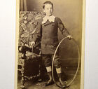 Portrait Garçon MODE CERCEAU 1875 Paul BERTHIER PARIS CDV