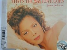 JANET JACKSON THAT'S THE WAY LOVE GOES MAXI CD