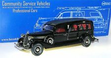 BROOKLIN csv.12, 1934 Miller-Buick Type Model Funeral Coach, Hearse, 1/43