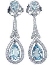 Topaz Gemstone Fine Earrings