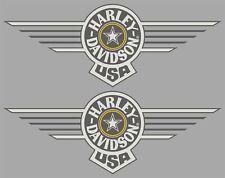 1990 Harley Davidson FLSTF Fat Boy - Grey Ghost Tank Decals