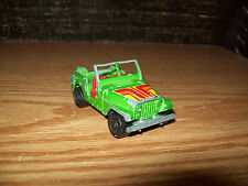 MAJORETTE JEEP CJ TRUCK FARM LEISURE TOY COLLECTIBLE 1/54