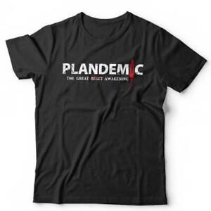 Plandemic The Great Awakening Tshirt Unisex & Kids  Conspiracy, Virus, Lock Down