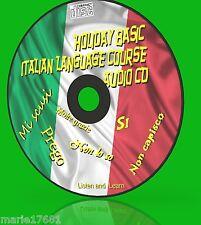 Essenziale per le vacanze italiano linguaggio BASIC corso USO AUTO CASA LAVORO NUOVO CD AUDIO