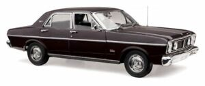 Ford XT GT Falcon Jet Black 1:18 Classic Carlectables