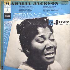 "MAHALIA JACKSON Jazz Pour Tous 7 FR Press Philips P 07 798 25 Cm/10"""