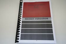 Massey Ferguson. MF185 Workshop Service Manual
