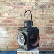 Large Vintage Railway Lantern