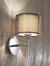 Applique Cromo Lucido con Paralume in Tessuto Design Moderno Perenz 5976