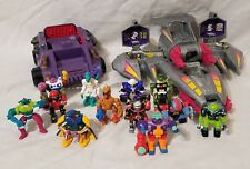 Zbots Lot (Galoob/Micro Machine brand figures) Vehicles 1993