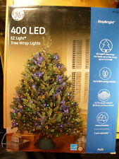 GE StayBright LED Multi-Color Christmas Tree Net Style 400 Light Light-O-Rama