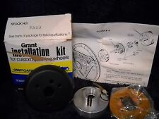 NOS 3523 GRANT STEERING WHEEL HORN Kit Black For 1976-1978 Audi Fox and 4000