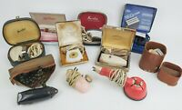 Vintage Electric Shaver/Massager Lot w/Cases Sunbeam/Remington/Schick UNTESTED