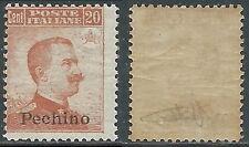 1917-18 CINA PECHINO EFFIGIE 20 CENT MNH ** - E102