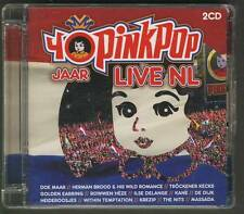 40 JAAR PINKPOP 2-CD LIVE Golden Earring Herman Brood Within Temptation Nits