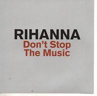RIHANNA Don't Stop The Music Promo |10-Remixes  MAXI CD DEFR 16771-2 2007 USA