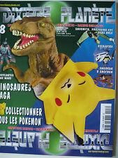 Magazine (très bel état) - Dixième planète 8 (spécial Pokemon)