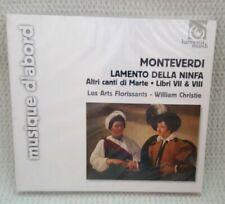 Monteverdi - Lamento Della Ninfa CD