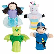 Hand Puppets Set, Plush Hand Puppets Pack of Children's Puppet