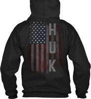 Huk Family American Flag Gildan Hoodie Sweatshirt
