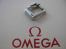 NOS Omega Vintage Stainless Steel 8mm Buckle - Very Rare & Highly Collectable