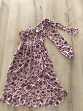 For Love And Lemons Pink Midi Floral Dress Size XS