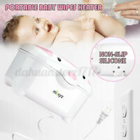 Portable Baby Wipes Heater Wipe Diaper Warmer Infant Comfort With Power Cord